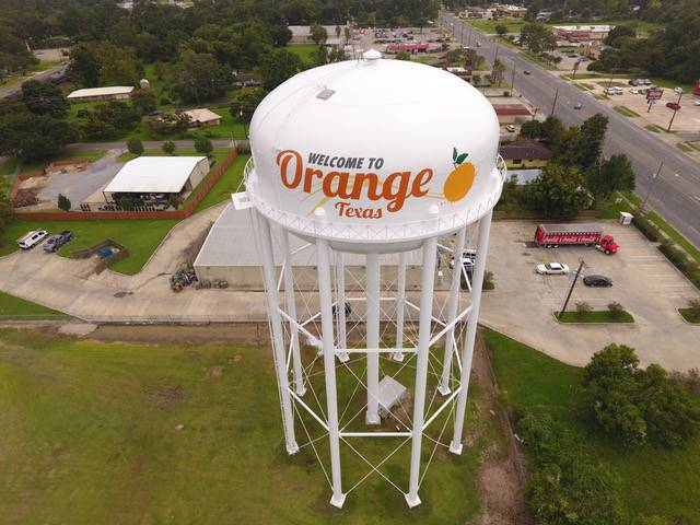 Water Tower Coat - Orange, Texas